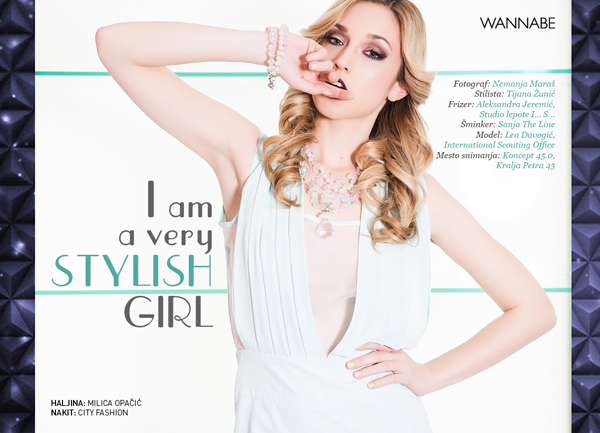 Wannabe Editorijal Maj 01 Wannabe editorijal: I am a very Stylish girl