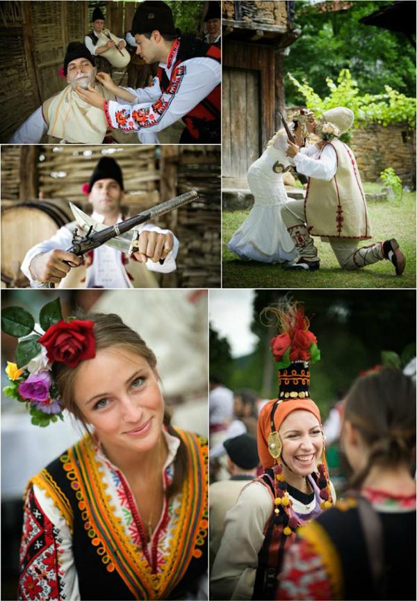 Zanimljiva nošnja Wannabe Bride: Tradicija i običaji Istočne Evrope