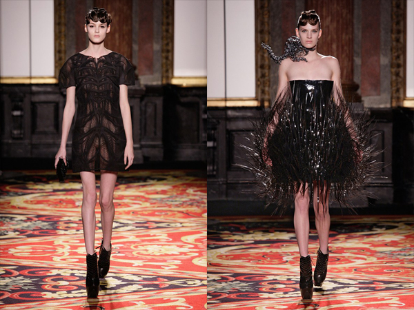 dve crne kratke haljine slika4jpg Proleće i leto na modnim pistama: Iris Van Herpen