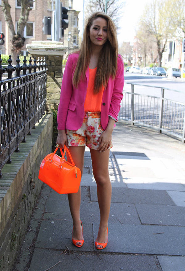 furla orange jimmy choo bagslook main Fashion Bloggers Must Have: Torba Furla, Candy Bag