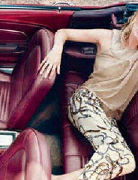 Liu Jo: Na zadnjem sedištu sa Kate Moss