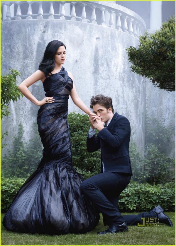 """moda na naslovnici kristen i rob naslovnica 2 Moda na naslovnici: """"Twilight"""" zona, Robert i Kristen"""