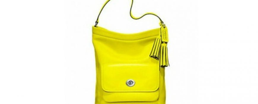 Prolećne žute torbe