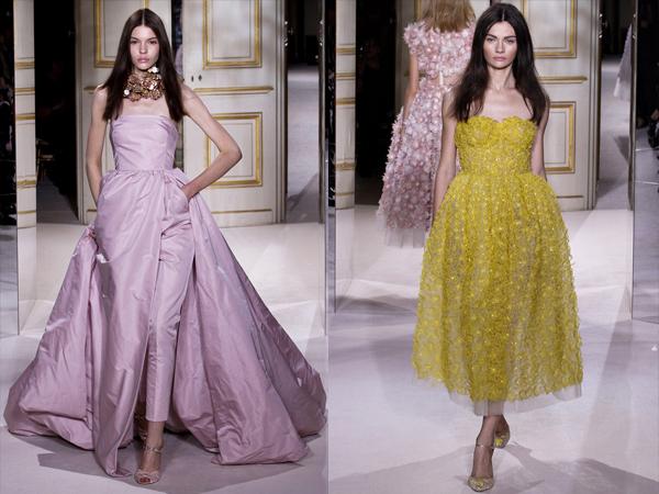 neyno roze haljina i zuta haljina slika4 Proleće i leto na modnim pistama: Giambattista Valli
