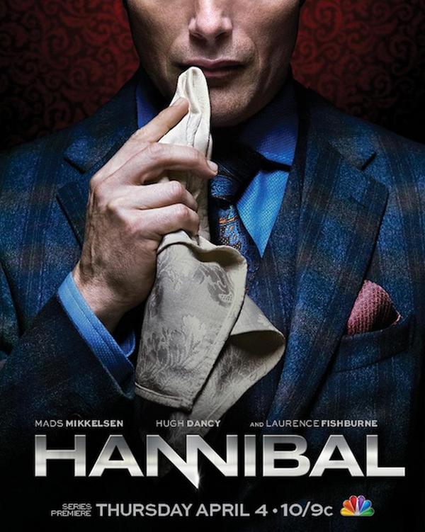"""slika 1 Hanibal poster Serija četvrtkom: """"Hannibal"""""""
