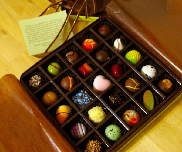 Šarene čokoladice u kutiji Vodič kroz potpuni užitak: Radionice čokolade