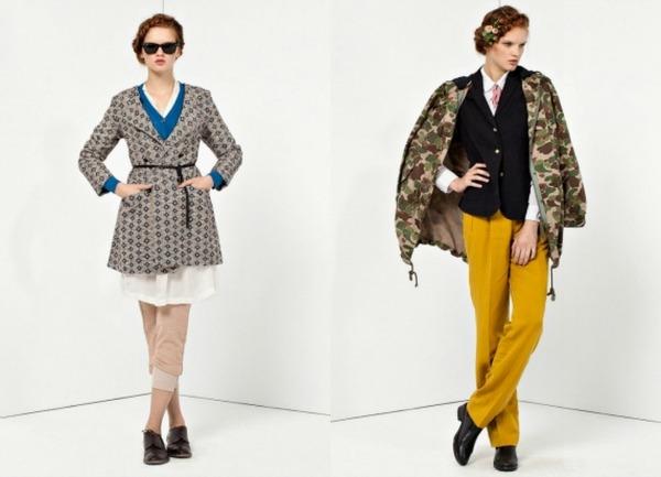 Žute pantalone Bellerose: Moderan stil