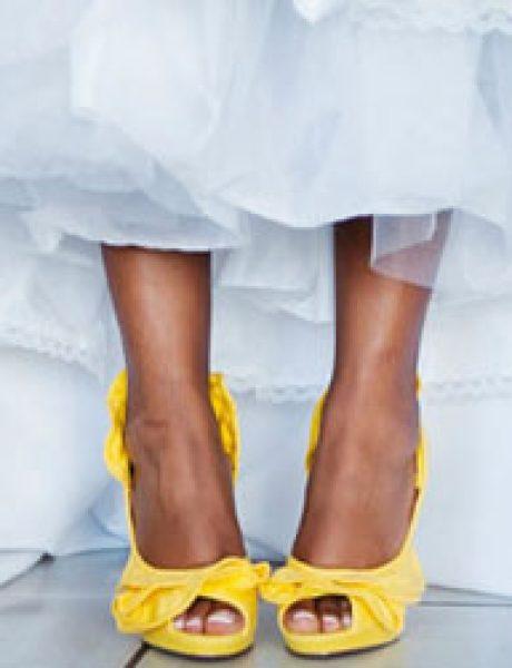 Wannabe Bride: Cipele za mladu u jarkim bojama