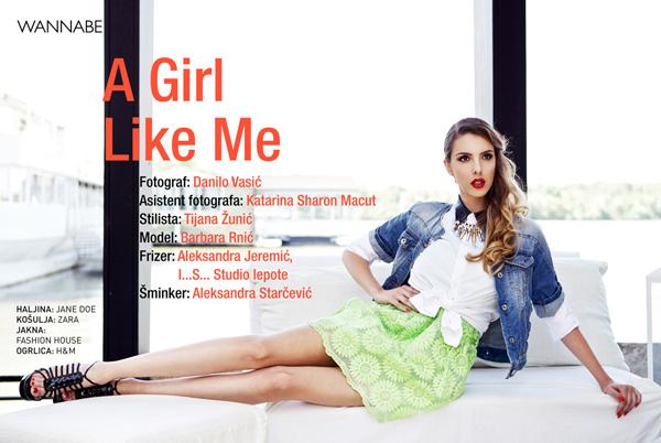 0 Wannabe editorijal: A Girl Like Me