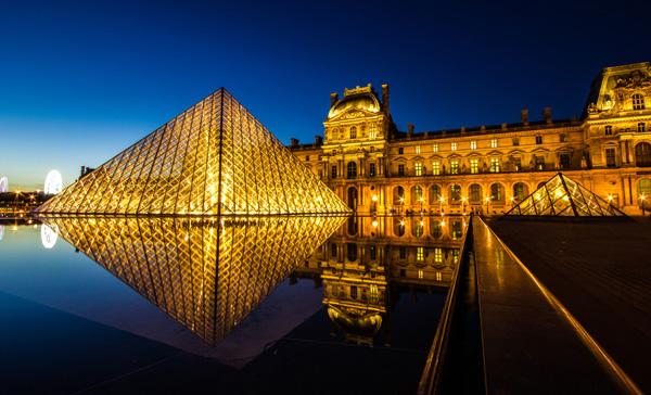 1 luvr pariz nocu Deset najlepših muzeja umetnosti u Evropi