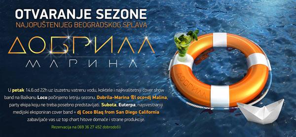 1015524 592104134153861 419354238 o Otvaranje letnje sezone: Dobrila Marina splav
