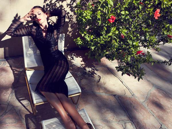 "11 ""Harper's Bazaar Spain"": Fatalna Cindy Crawford"