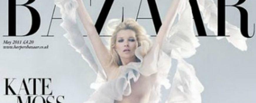 Moda na naslovnici: Kate Moss u kraljevskom stilu