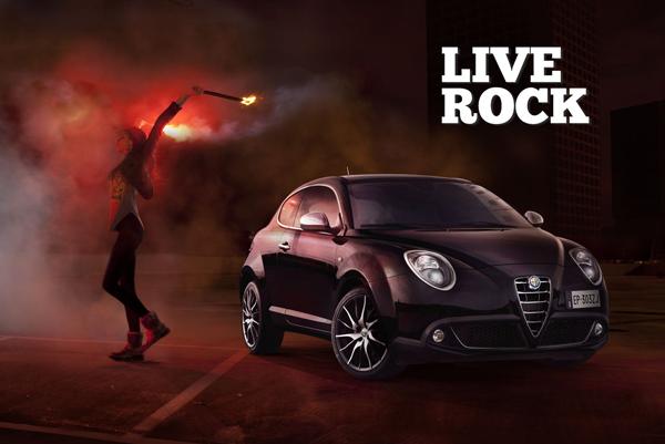 130614 AR Mito 04 Live Rock, kampanja za novi Alfa Romeo MiTo MY 2014