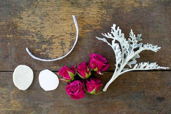 151 Wannabe Bride: Uradi sam, cvetna narukvica
