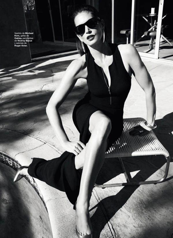 "31 ""Harper's Bazaar Spain"": Fatalna Cindy Crawford"