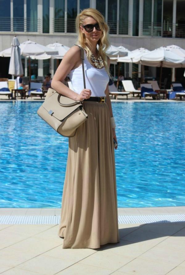 55 Fashion Bloggers Must Have: Maksi suknja