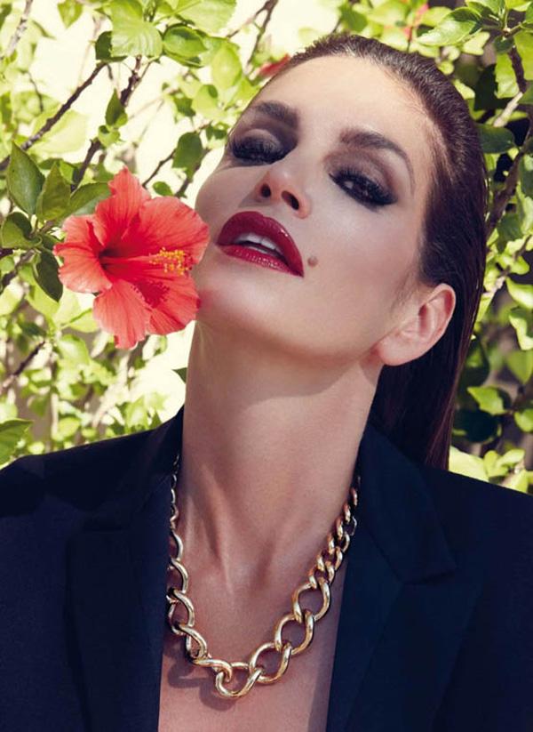 "71 ""Harper's Bazaar Spain"": Fatalna Cindy Crawford"