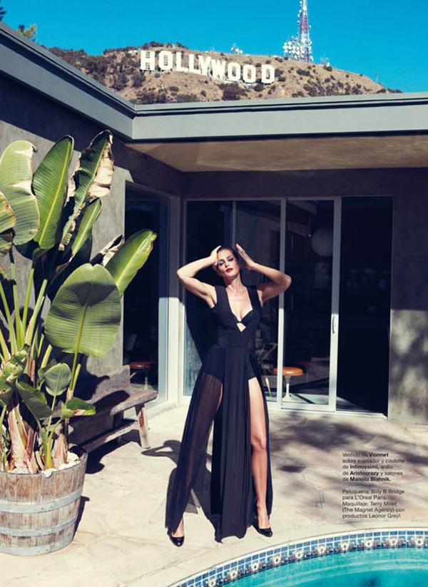 "8 ""Harper's Bazaar Spain"": Fatalna Cindy Crawford"