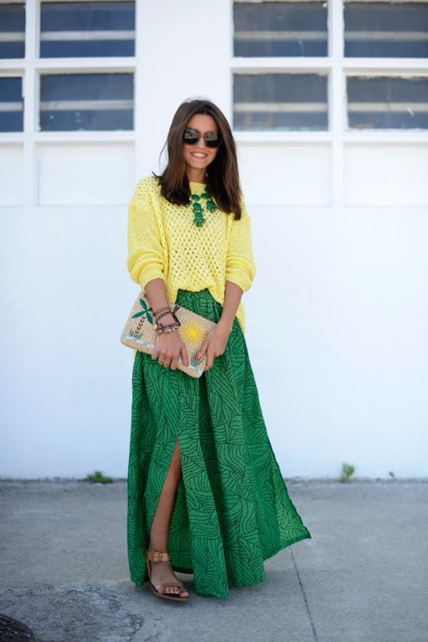 Aleksandra Pereira Fashion Bloggers Must Have: Maksi suknja