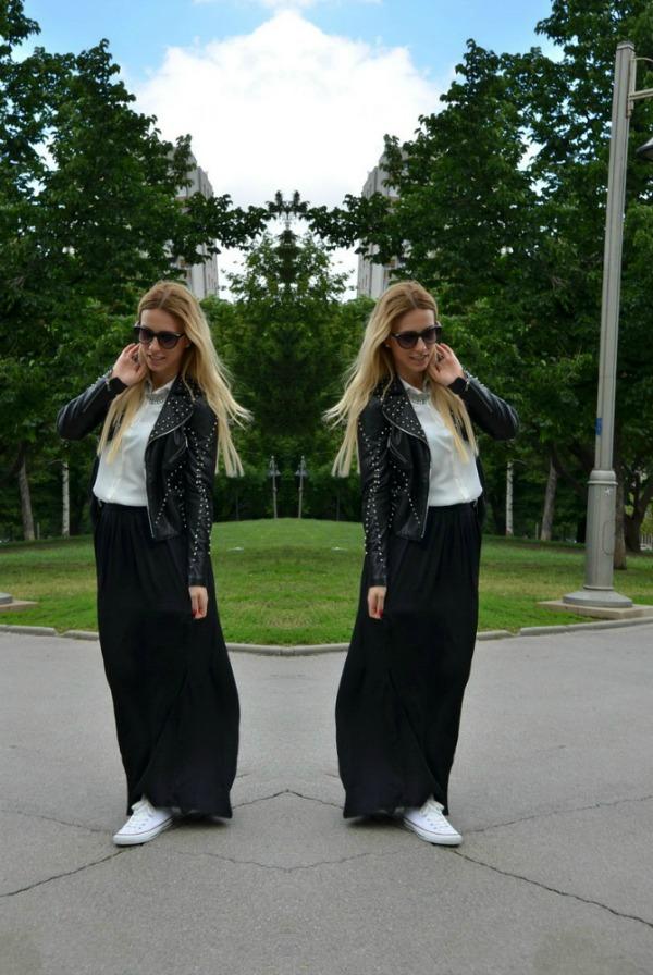 Anastasija Milojević Fashion Bloggers Must Have: Maksi suknja
