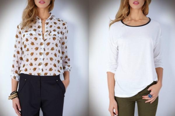 Bele majice Suite Blanco: Šare i rese