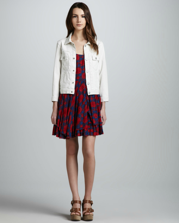 Bijela džins jakna Top 10 džins jakni