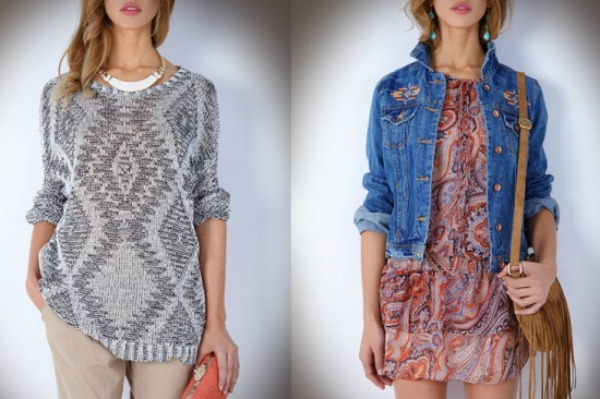 Džemper vs. teksas jakna Suite Blanco: Šare i rese
