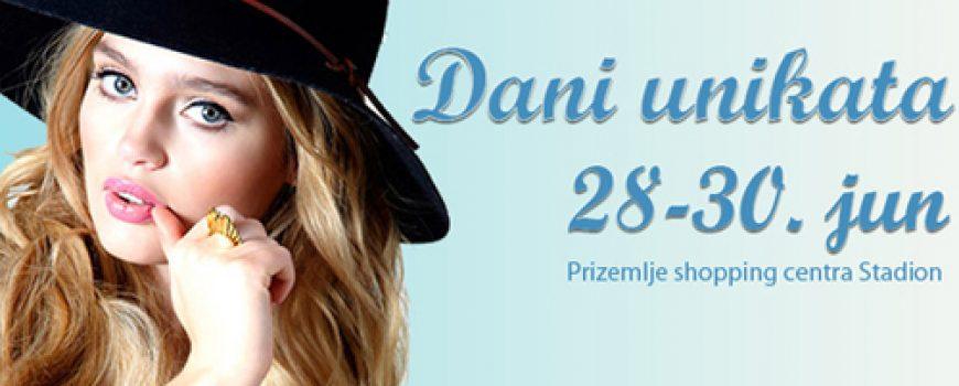 """Dani unikata"" u Stadion shopping centru"
