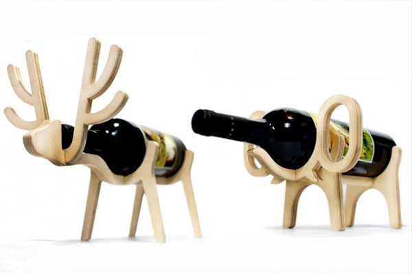 Držač slon i jelen Dekorativni i korisni: Deset držača za vinske boce