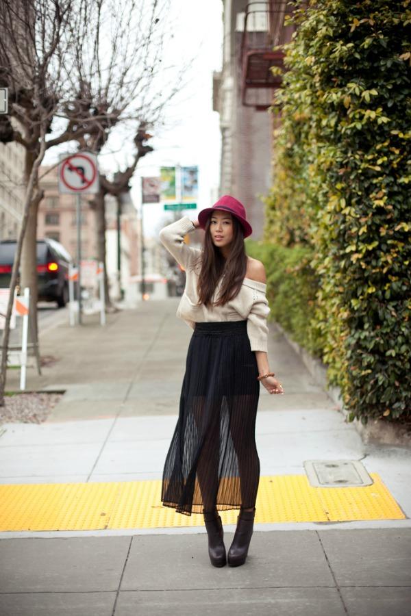 Ejmi Sung Fashion Bloggers Must Have: Maksi suknja