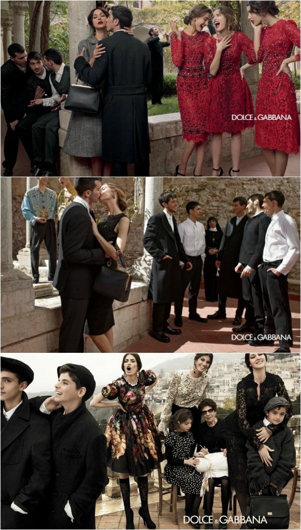 F14 Modni zalogaj: Nova kampanja modne kuće Dolce&Gabbana