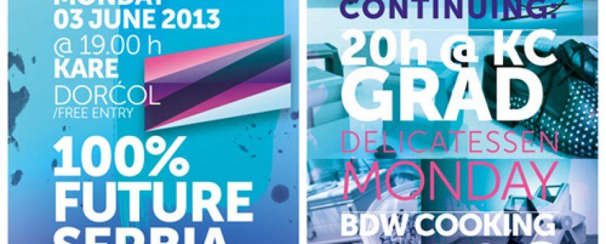 Beogradska nedelja dizajna: Svečano otvaranje projekta 100% Future Serbia