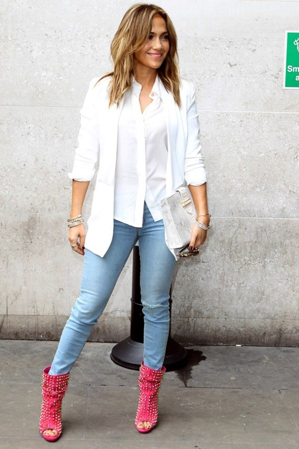 Jennifer Lopez Celebrity stil dana: Jennifer Lopez