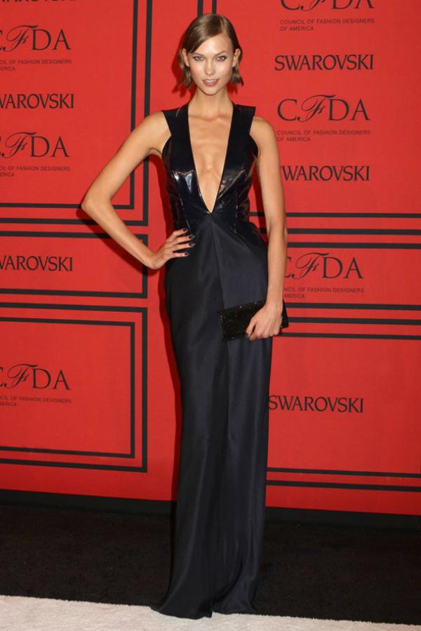 Karlie Kloss Fashion Police: CFDA Awards 2013