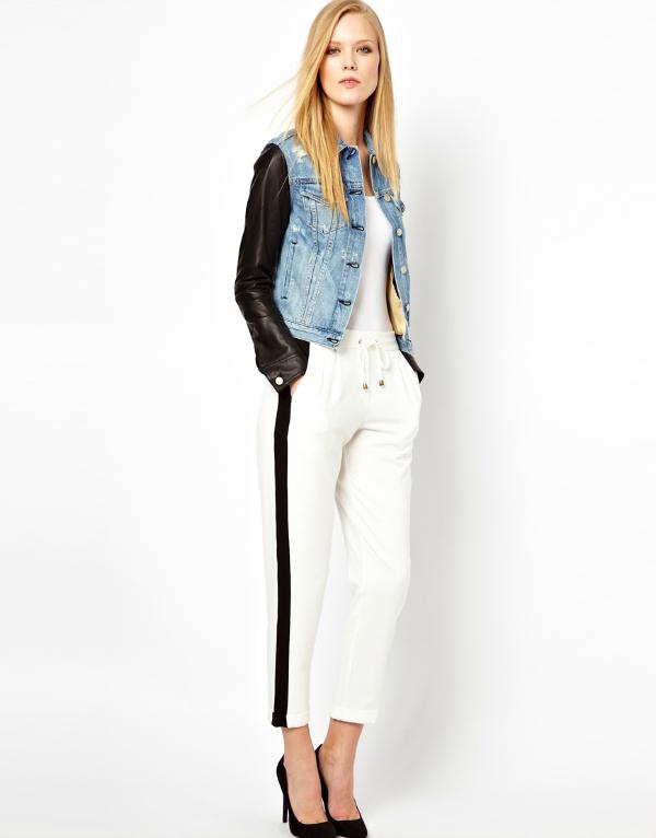 Kožni rukavi Top 10 džins jakni