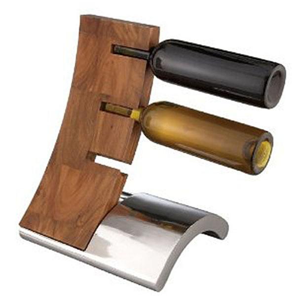 Kombinacija metala i drveta Dekorativni i korisni: Deset držača za vinske boce
