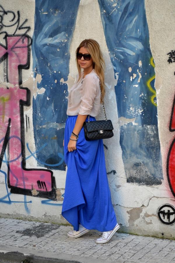 Miljana Zečević Fashion Bloggers Must Have: Maksi suknja