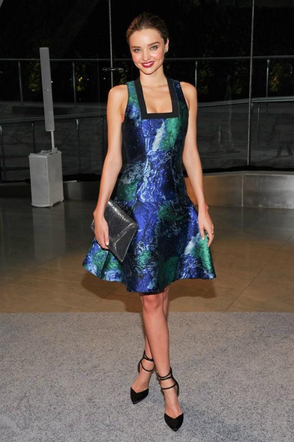 Miranda Kerr Fashion Police: CFDA Awards 2013