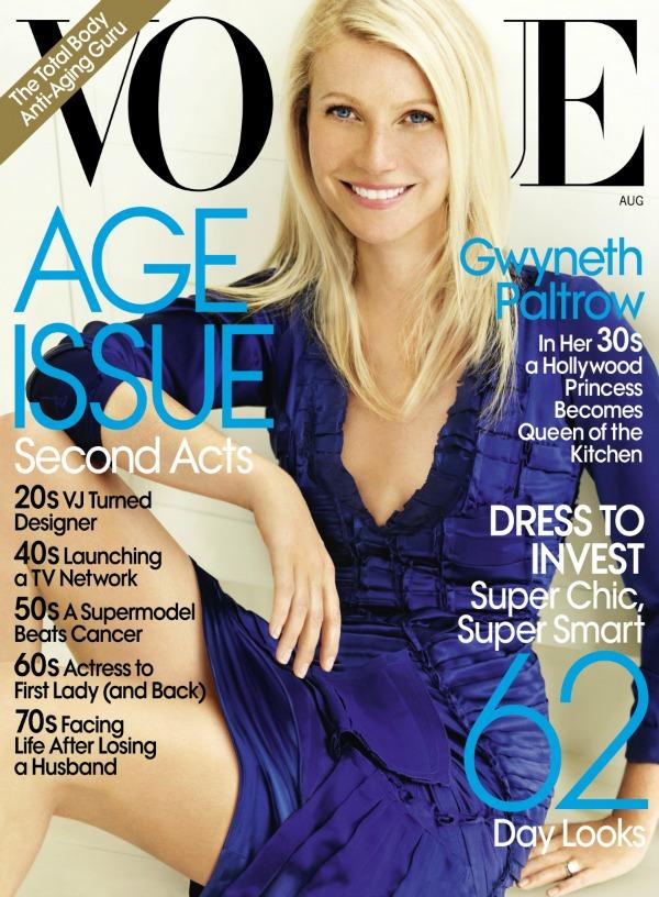 Moda na naslovnici Gwiynet Paltrow Lepota i zdravlje Moda na naslovnici: Gwyneth Paltrow, lepota i zdravlje