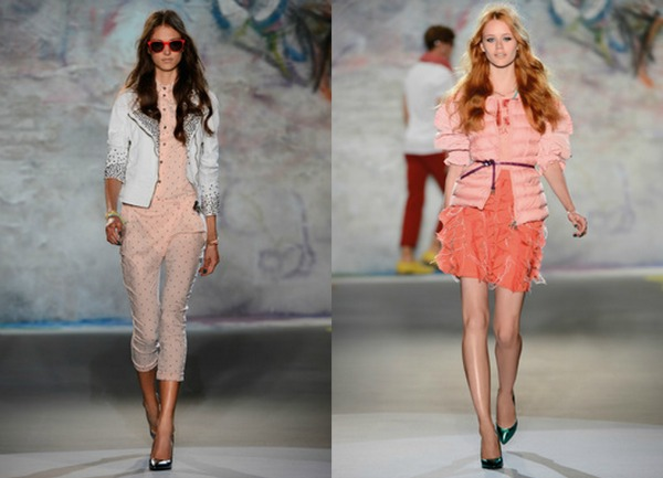 Nežno roze Patrizia Pepe: Trendi kolekcija