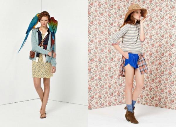 Plave nijanse Bellerose: Moderan stil