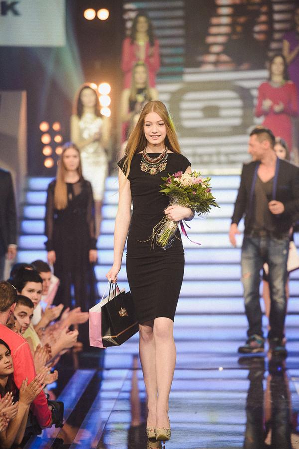 Pobednica Dahlia Elite Model Look Sandra Balaban Novi Sad Otkrivena nova zvezda modnih pista