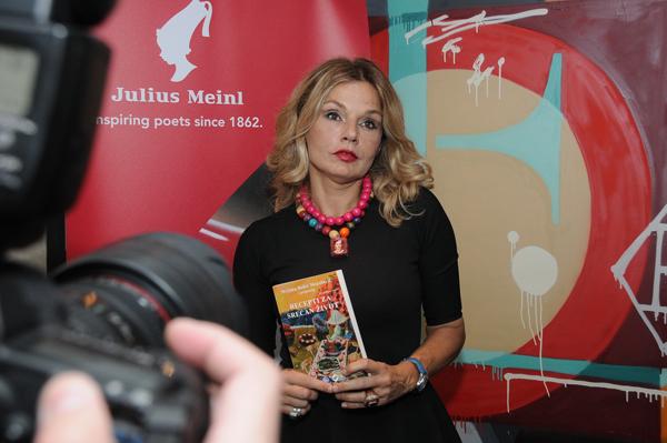 Promocija knjige Recepti za srecan zivot Mirjane Bobic Mojsilovic 1 Predstavljena knjiga Mirjane Bobić Mojsilović