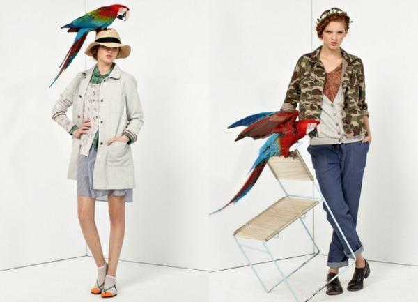 Ptice Bellerose: Moderan stil