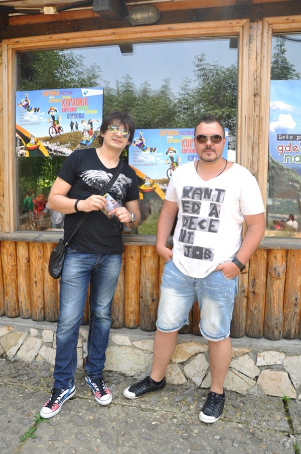 The Beat Shakers Ivan Gojkovic i Nenad Kosovac Na Košutnjaku deo letnje ponude Kopaonika