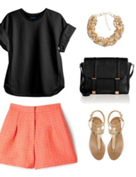 Look of the Day: Crna i roze