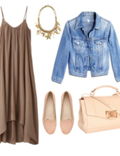 Look of the Day: Pastel i teksas