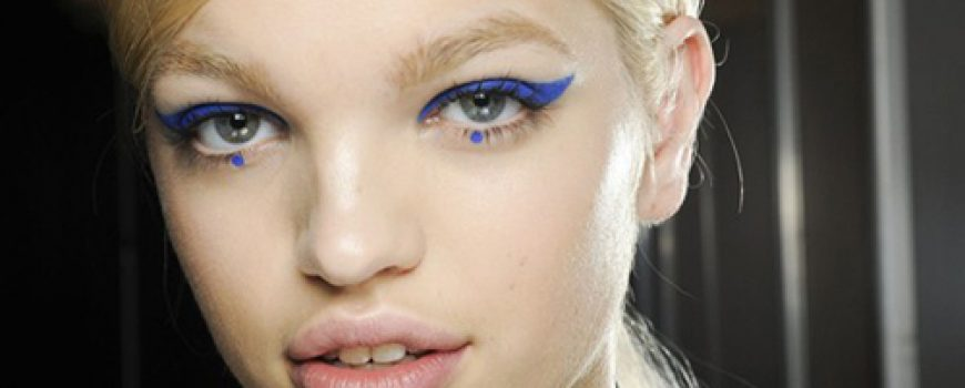 Beauty Look: Plavi ajlajner