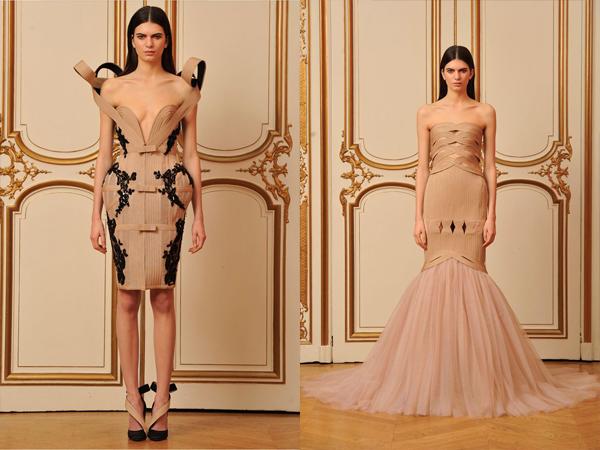 bez haljina sa crnim i bez haljina sirena kroja slika1 Proleće i leto na modnim pistama: House of Worth